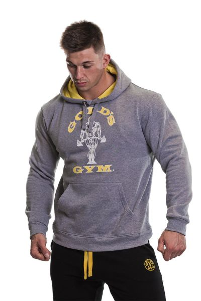Gold's Gym - Pull Over Hoodie, grau