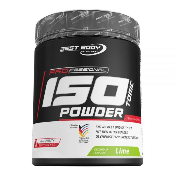 Best Body Nutrition - Professional Isotonic Powder, Lime - 600g Dose