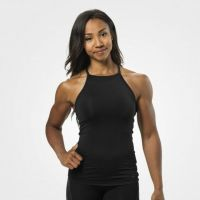 Better Bodies - Performance Halter Top, schwarz