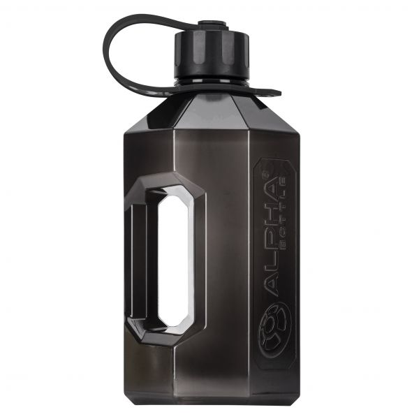 Alpha Designs - Water Bottle XXL, 2400ml, schwarz