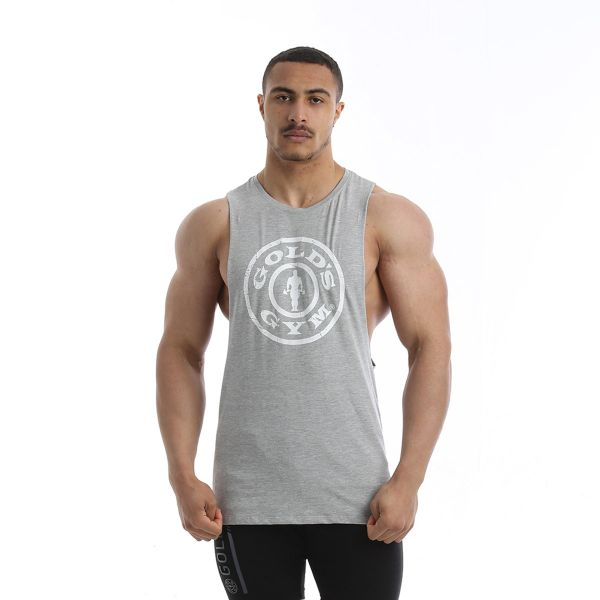 Gold's Gym - Muscle Joe Armhole Muscle Tank Top, grey