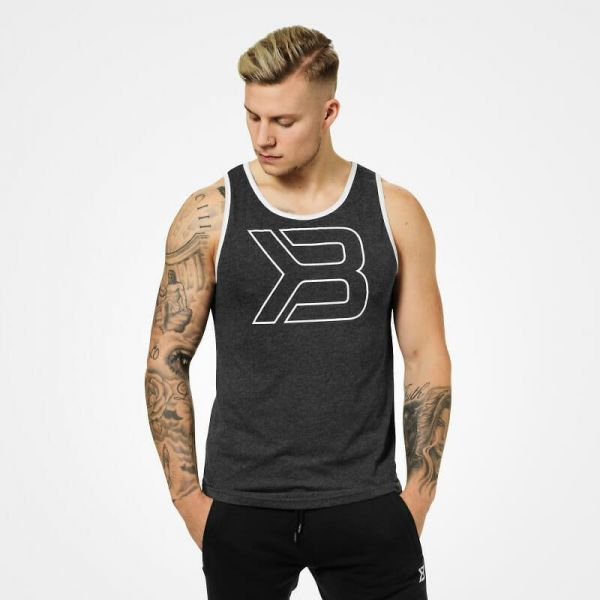 Better Bodies - Jersey Tank Top, antracite