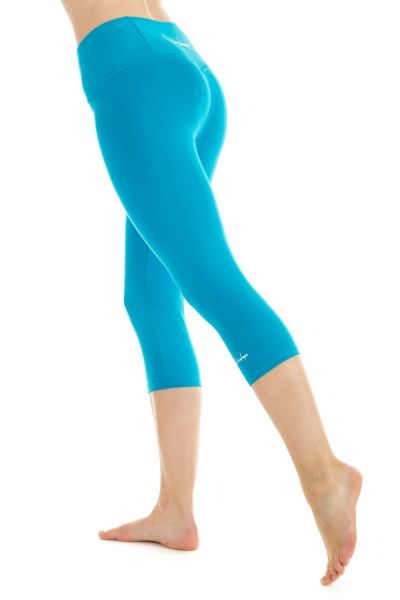 Winshape - 3/4-Slim Tights WTL2, türkis
