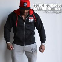 FKN Gym Wear - Men's Gun Smuggler Hoodie, schwarz