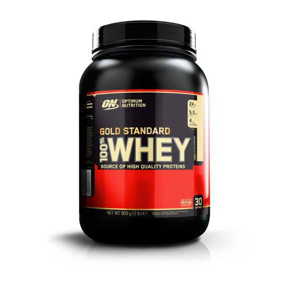 Optimum Nutrition - 100% Whey Gold Standard, 908g Dose