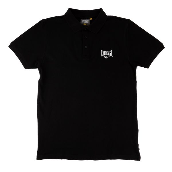 Everlast - Small Logo Polo Shirt, schwarz