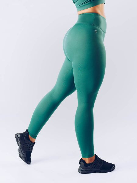 Workout Empire - With Confidence Shape Leggings, green