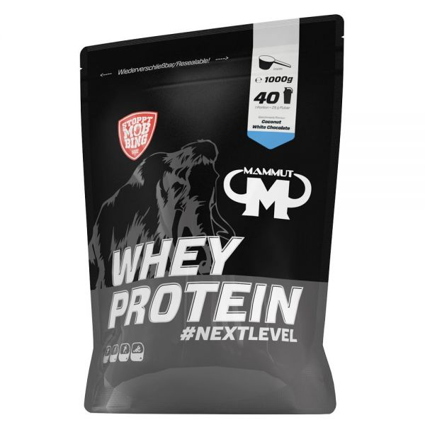 Mammut Nutrition - Whey Protein, Coconut White Chocolate - 1000g Beutel