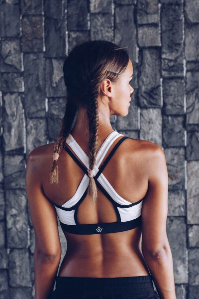 Workout Empire - Insignia Bra, weiss