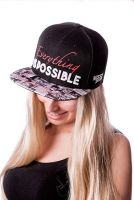 Missy Rockz - Snapback Cover Up, schwarz