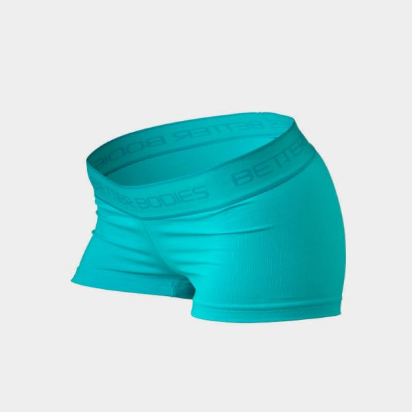 Better Bodies - Fitness Hotpant, aqua blue