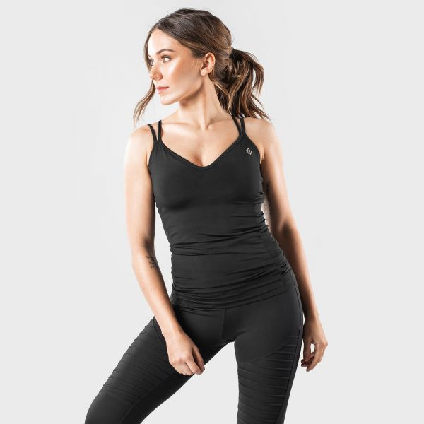 Workout Empire - Regalia Strap Tank, black