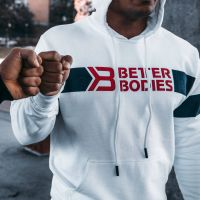 Better Bodies - Tribeca Hoodie, weiss