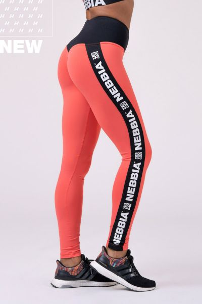 Nebbia - Power your Hero Iconic Leggings, peach