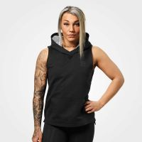 Better Bodies - Kensington Sleevless Hoodie, schwarz