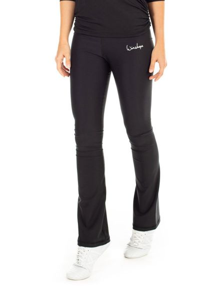 "Winshape - Functional Boot Cut Leggings ""High Waist"", schwarz"