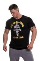 Gold's Gym - Muscle Joe T-Shirt, schwarz