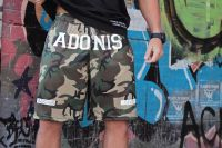 Adonis Gear - Hamma Shorts, camo green