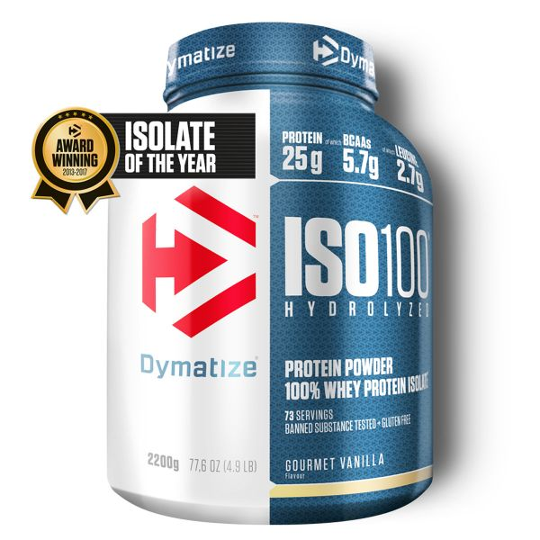 Dymatize - ISO 100 Whey Protein Isolate, 2200g Dose