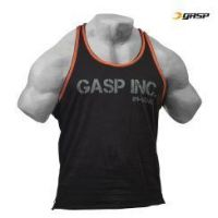 Gasp - Division Jersey Tank Top, black-flame