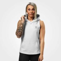 Better Bodies - Kensington Sleevless Hoodie, weiss