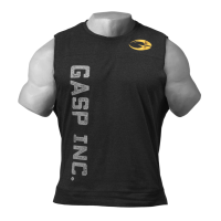 Gasp - 3045 Muscle Tank Top, washed black