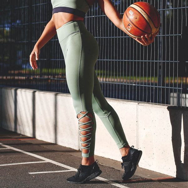 Workout Empire - Insignia Leggings, green