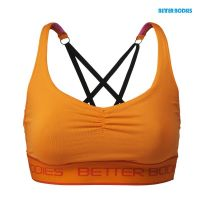 Better Bodies - Athlete Short TopBra, bright orange