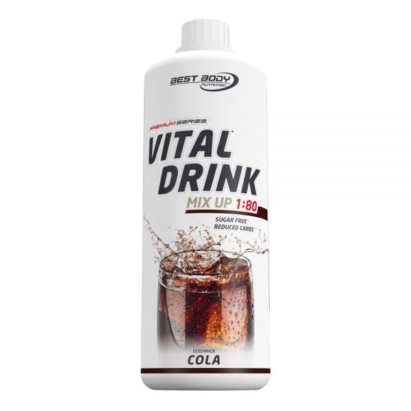 Best Body Nutrition - Vital Drink, Cola - 1000ml Flasche