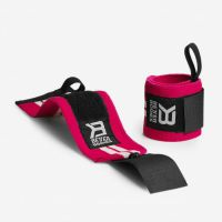 Better Bodies - Women's Wrist Wraps, pink-weiss