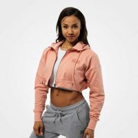 Better Bodies - Astoria Cropped Hoodie Jacket, peach beige