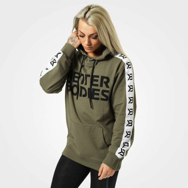 Better Bodies - Trinity Hoodie, wash green