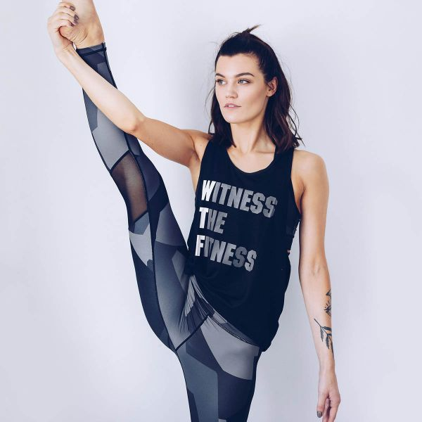 Workout Empire - WTF Tank, black