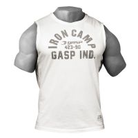 Gasp - Throwback SL Muscle Tank Top, off white