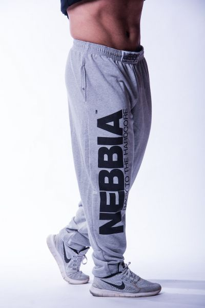 Nebbia - Hardcore Fitness Sweatpants, grau