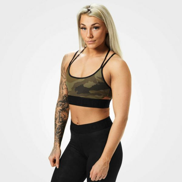 Better Bodies - Astoria Sports Bra, dark green camo
