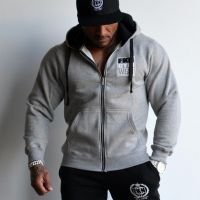 FKN Gym Wear - Men's Gun Smuggler Hoodie, grau
