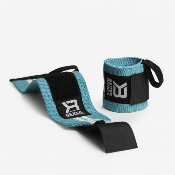Better Bodies - Women's Wrist Wraps, aqua blue