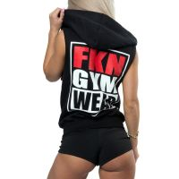 FKN Gym Wear - Gun Smuggler Hoodie, Sleeveless schwarz