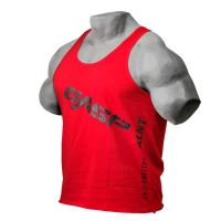Gasp - Vintage T-Back Tank Top, chili red