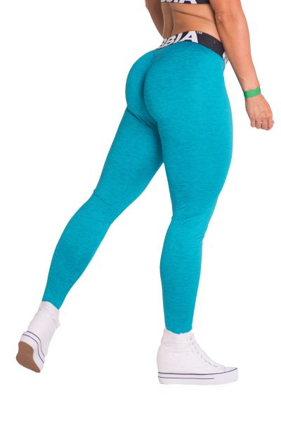 Nebbia - Scrunch Butt Leggings, aqua