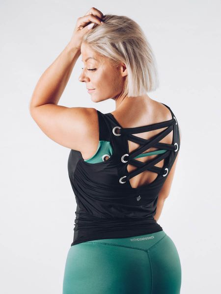 Workout Empire - With Confidence Tank, black