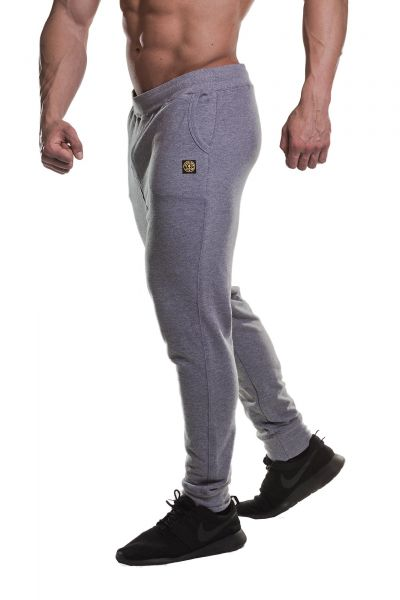 Gold's Gym - Fitted Jog Pant, grau