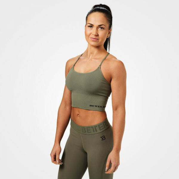 Better Bodies - Astoria Seamless Bra, washed green