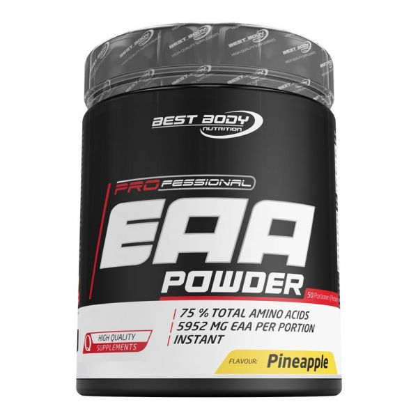 Best Body Nutrition - Professional EAA Powder, Pineapple - 450g Dose