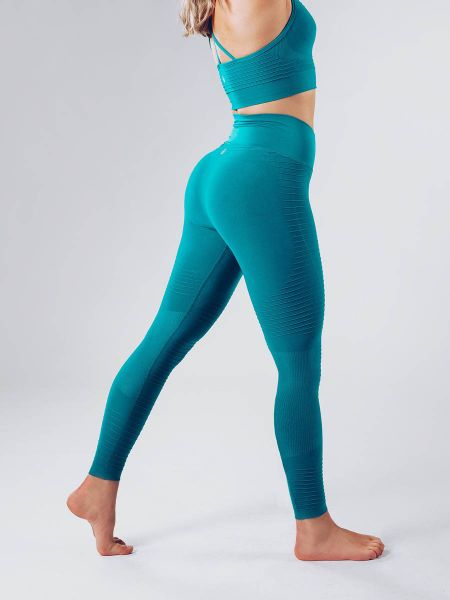 Workout Empire - Regalia Flow Leggings, blue