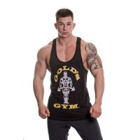 Gold's Gym - Muscle Joe Premium Stringer Tank Top, schwarz