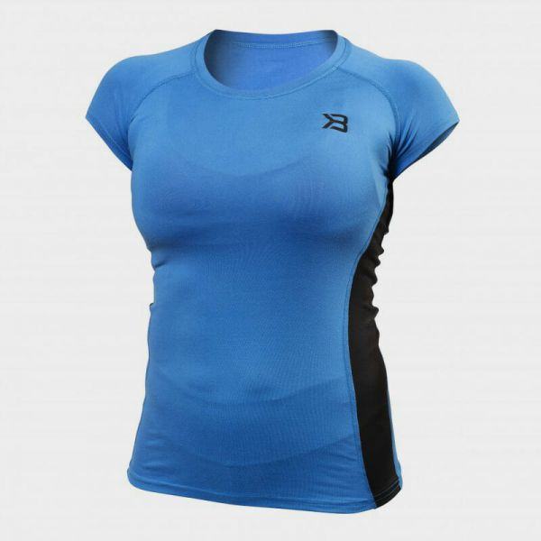 Better Bodies - Performance Soft Tee MTS, blau