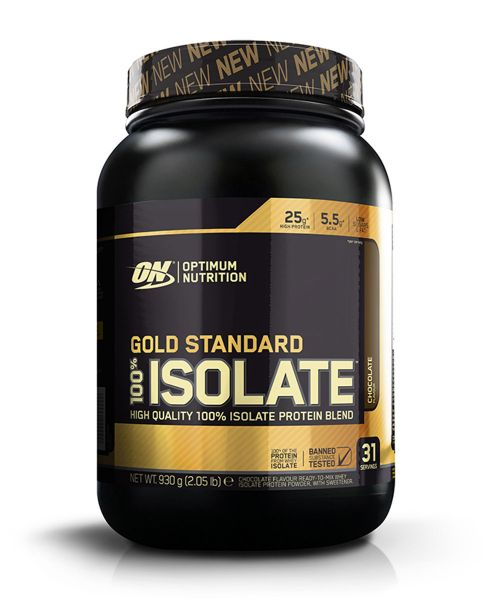 Optimum Nutrition - 100% Isolate Protein, 930g Dose