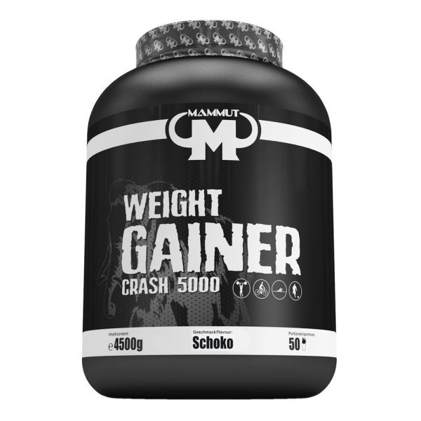 Mammut Nutrition - Weight Gainer Crash 5000, Schoko - 4500g Dose